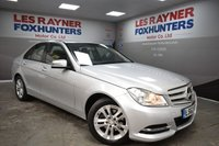 2012 MERCEDES-BENZ C CLASS 2.1 C220 CDI BLUEEFFICIENCY EXECUTIVE SE 4d AUTO 168 BHP £9499.00