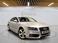 USED 2011 61 AUDI A5 2.0 SPORTBACK TDI S LINE 5d AUTO 141 BHP + Leather Interior, Bluetooth Audio