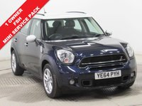 USED 2015 64 MINI COUNTRYMAN 2.0 COOPER S D 5d AUTO 141 BHP ***1 Owner, Full Service History, Mini Service Pack, Bluetooth, Parking Sensors, A/c***