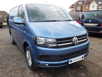 2017 VOLKSWAGEN TRANSPORTER T30 TDI HIGHLINE 150 SWB BLUEMOTION EURO 6 £20995.00