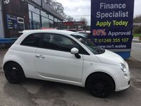 USED 2012 62 FIAT 500 1.2 STREET 3d 69 BHP, only 39000 miles ***GREAT FINANCE DEALS AVAILABLE***