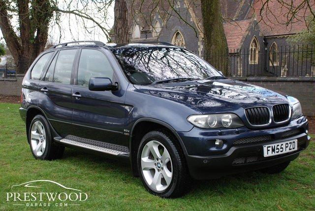 2005 55 BMW X5 3.0d SPORT AUTO [215 BHP] 5 DOOR ESTATE