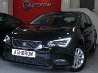 USED 2016 16 SEAT LEON 1.6 TDI SE TECHNOLOGY 5d 110 S/S SAT NAV, BLUETOOTH PHONE & MUSIC STREAMING, DAB RADIO, LED FRONT & REAR LIGHTS, FRONT FOG LIGHTS, LEATHER MULTI FUNCTION STEERING WHEEL, CRUISE CONTROL,  CD HIFI WITH 2x SD CARD READERS, AUX & USB INPUTS, AIR CONDITIONING, 1 OWNER FROM NEW, FULL SEAT SERVICE HISTORY, BALANCE OF SEAT WARRANTY, £20 ROAD TAX