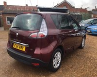 USED 2014 14 RENAULT SCENIC DYNAMIQUE TOMTOM ENERGY DCI S/S MOT 15th May 2020 - Full Service History inc Cambelt @ 91k - £20 Road Tax - TWO PRIVATE OWNER'S - Nissan Dealer Part Exchange - SAT-NAV - Bluetooth - Cruise Control - Warranty/Recovery Included  -