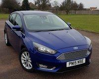2015 FORD FOCUS 1.6 TITANIUM 5d AUTO 124 BHP £10995.00