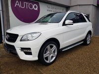2013 MERCEDES-BENZ M CLASS 3.0 ML350 BLUETEC AMG SPORT 5d 258 BHP £23995.00