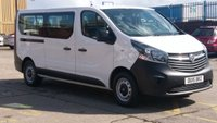 2015 VAUXHALL VIVARO 1.6 COMBI CDTI 5d 115 BHP 9 SEATER MINI BUS 1 OWNER F/S/H \ NO VAT TO ADD ///  \ FREE 12 MONTHS WARRANTY COVER /// £11750.00