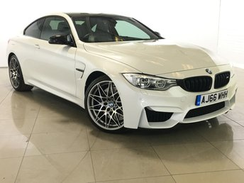 2016 BMW 4 SERIES 3.0 M4 COMPETITION PACKAGE 2d 444 BHP £42990.00