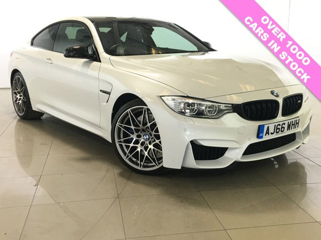 View our 2016 66 BMW 4 SERIES 3.0 M4 COMPETITION PACKAGE 2d 444 BHP