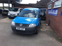 USED 2010 10 VOLKSWAGEN CADDY 2.0 C20 PLUS SDI 1d 68 BHP 2 OWNERS, NO VAT