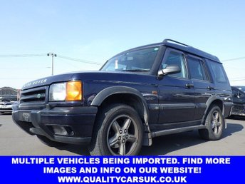 View our LAND ROVER DISCOVERY 4.0 V8