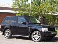 USED 2006 V LAND ROVER RANGE ROVER 4.2 V8 SUPERCHARGED 5d 391 BHP