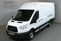 USED 2015 15 FORD TRANSIT 2.2 350 124 BHP L4 H3 EXTRA LWB HIGH ROOF ONE OWNER FROM NEW, EXTRA LONG WHEELBASE, HIGH ROOF