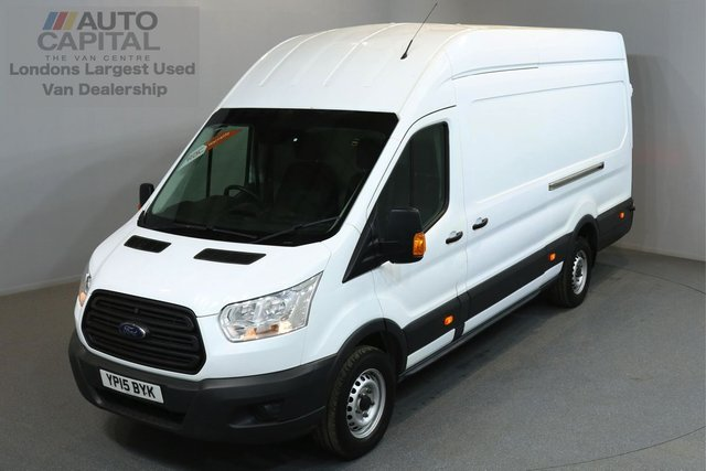 2015 15 FORD TRANSIT 2.2 350 124 BHP L4 H3 EXTRA LWB HIGH ROOF ONE OWNER FROM NEW, EXTRA LONG WHEELBASE, HIGH ROOF