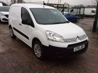2015 CITROEN BERLINGO 1.6 850 ENTERPRISE L1 HDI 89 BHP 1 OWNER FSH NEW MOT  £7200.00