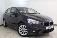 USED 2015 15 BMW 2 SERIES 2.0 218D SE ACTIVE TOURER 5DR AUTOMATIC 148 BHP FULL SERVICE HISTORY + SAT NAVIGATION + BLUETOOTH + CRUISE CONTROL + MULTI FUNCTION WHEEL + RADIO/CD + 17 INCH ALLOY WHEELS