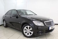USED 2009 59 MERCEDES-BENZ C CLASS 1.6 C180 KOMPRESSOR BLUEEFFICIENCY SE 4DR AUTOMATIC 156 BHP SERVICE HISTORY + BLUETOOTH + CRUISE CONTROL + MULTI FUNCTION WHEEL + CLIMATE CONTROL + AUXILIARY PORT + 16 INCH ALLOY WHEELS