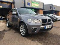 2012 BMW X5 3.0 XDRIVE30D M SPORT 5d AUTO 241 BHP £16695.00