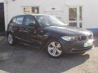 2008 BMW 1 SERIES 2.0 118I SE 5d AUTO 141 BHP £4850.00