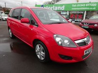 USED 2010 60 VAUXHALL ZAFIRA 1.6 ENERGY 5d 113 BHP **JUST ARRIVED**TEST DRIVE TODAY**FINANCE AVAILABLE**