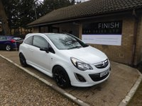 USED 2014 14 VAUXHALL CORSA 1.2 LIMITED EDITION 3d 83 BHP 1 PRIVATE OWNER FROM NEW, FULL SERVICE HISTORY 3 STAMPS!