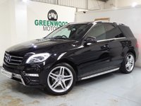2014 MERCEDES-BENZ M CLASS 3.0 ML350 CDI BlueTEC AMG Sport 7G-Tronic Plus 5dr £23494.00