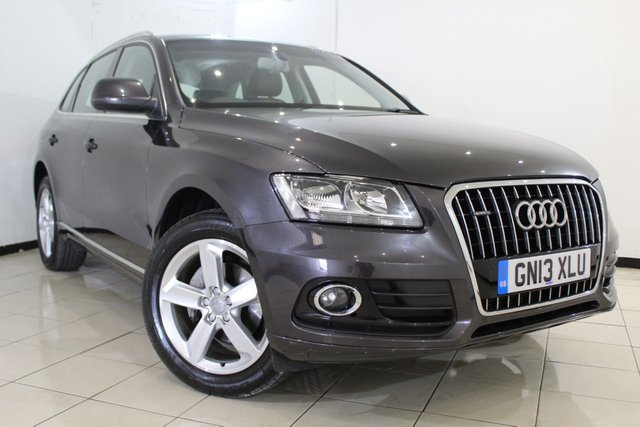 View our 2013 13 AUDI Q5 2.0 TDI QUATTRO SE 5DR AUTOMATIC 175 BHP