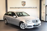 USED 2014 14 MERCEDES-BENZ C CLASS 2.1 C220 CDI EXECUTIVE SE 5DR 168 BHP + FULL BLACK LEATHER INTERIOR + FULL SERVICE HISTORY + 1 OWNER FROM NEW + SAT NAV PREP + BLUETOOTH + CRUISE CONTROL + RAIN SENSORS + PARKING SENSORS + 16 INCH ALLOY WHEELS +