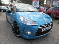 USED 2013 13 CITROEN DS3 1.6 E-HDI DSTYLE PLUS 3d 90 BHP NIL ROAD TAX, SERVICE HISTORY,