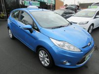 USED 2010 10 FORD FIESTA 1.2 ZETEC 5d 81 BHP ***FINANCE AVAILABLE...JUST ARRIVED***