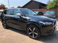 USED 2015 65 VOLVO XC90 2.0 D5 R-DESIGN AWD 5d AUTO 222 BHP One owner from new, Full Volvo service history. VAT Inclusive price.
