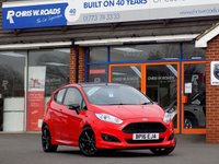 USED 2016 16 FORD FIESTA 1.0 ZETEC S RED EDITION 3dr 140