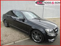 "2013 MERCEDES-BENZ C CLASS 2.1 C220 CDI BLUEEFFICIENCY AMG SPORT 4dr AUTO 170 BHP"" MUST BE VIEWED"" £12495.00"