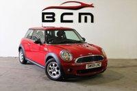 2009 MINI HATCH ONE 1.4 ONE 3d 94 BHP £3500.00