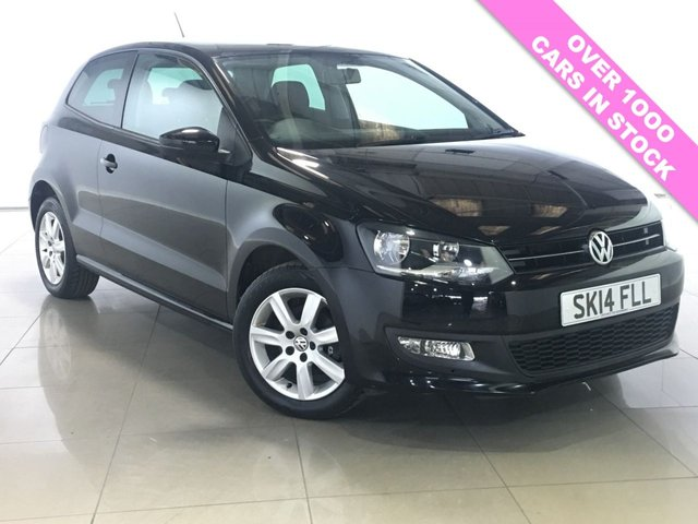 View our 2014 14 VOLKSWAGEN POLO 1.2 MATCH EDITION 3d 59 BHP