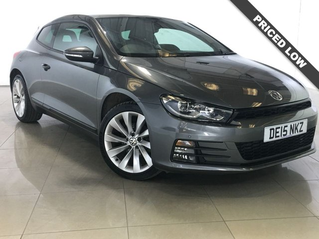 View our 2015 15 VOLKSWAGEN SCIROCCO 2.0 GT TDI BLUEMOTION TECHNOLOGY 2d 150 BHP