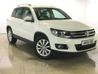 USED 2015 15 VOLKSWAGEN TIGUAN 2.0 MATCH TDI BLUEMOTION TECHNOLOGY 5d 139 BHP 1 Owner/Nav/Bluetooth/DAB