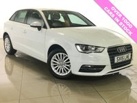 USED 2015 15 AUDI A3 1.6 TDI SE TECHNIK 5d 109 BHP One Owner/Nav/Bluetooth/DAB