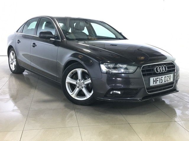 View our 2015 15 AUDI A4 2.0 TDI ULTRA SE TECHNIK 4d 161 BHP