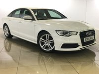 USED 2015 15 AUDI A6 2.0 TDI ULTRA S LINE 4d 188 BHP 1 Owner/Nav/Leather/Bluetooth
