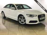USED 2015 15 AUDI A6 2.0 TDI ULTRA S LINE 4d 188 BHP One Owner/Nav/Leather