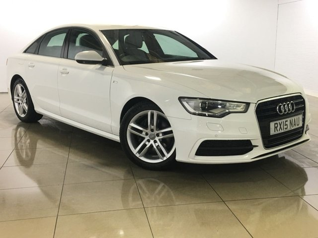 View our 2015 15 AUDI A6 2.0 TDI ULTRA S LINE 4d 188 BHP