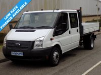 2014 FORD TRANSIT 2.2 RWD 350 DRW DOUBLE CAB TIPPER 125BHP 6 SPEED £12995.00
