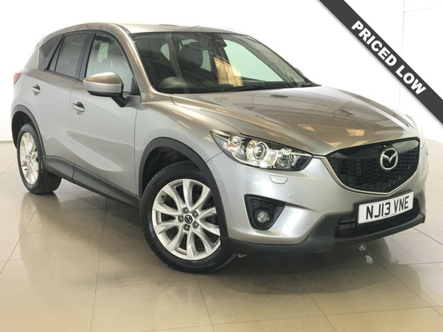 View our 2013 13 MAZDA CX-5 2.2 D SPORT NAV 5d 148 BHP