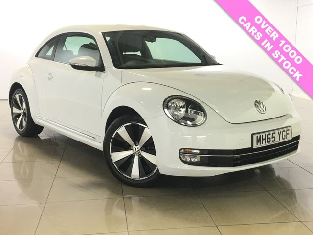 View our 2016 65 VOLKSWAGEN BEETLE 2.0 DESIGN TDI BLUEMOTION TECHNOLOGY 3d 148 BHP