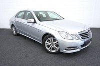 2012 MERCEDES-BENZ E CLASS 2.1 E220 CDI BLUEEFFICIENCY EXECUTIVE SE 4d AUTO 170 BHP £9645.00