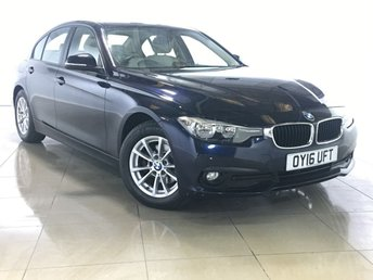2016 BMW 3 SERIES 2.0 320D ED PLUS 4d AUTO 161 BHP £14790.00