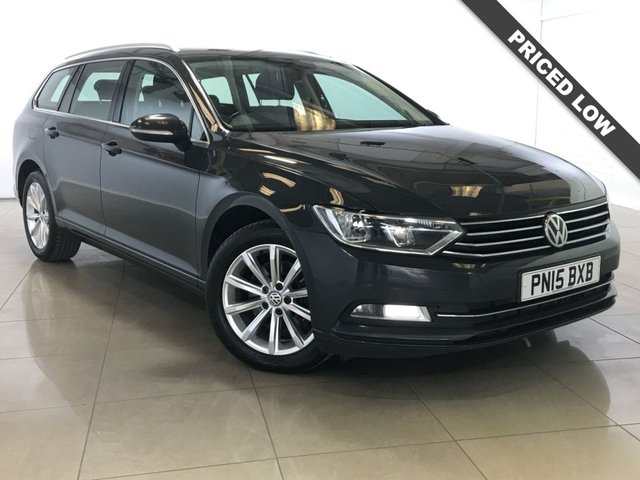 View our 2015 15 VOLKSWAGEN PASSAT 1.6 SE TDI BLUEMOTION TECHNOLOGY 5d 119 BHP