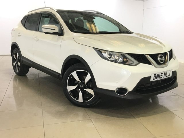 View our 2015 15 NISSAN QASHQAI 1.2 N-TEC PLUS DIG-T 5d 113 BHP