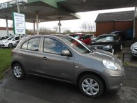 2013 NISSAN MICRA 1.2 30th ANNIVERSARY EDITION 5d 79 BHP £4287.00